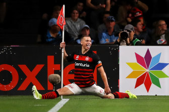 Splitting ways: Duke leaves the Wanderers for Saudi Arabia.