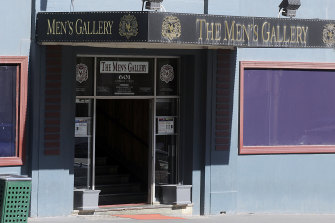 The Men's Gallery on Lonsdale Street in the CBD.