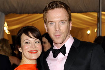 Helen McCrory and her husband Damian Lewis.