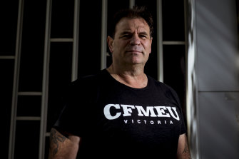 Victorian CFMEU construction state secretary John Setka's branch has launched a broadside against the ACTU.