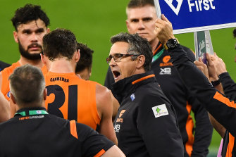 The heat is back on Leon Cameron after the Giants' shocking loss to Sydney.