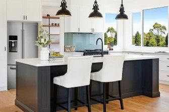 A kitchen fit-out by Universal Group Australia, as advertised on Facebook.