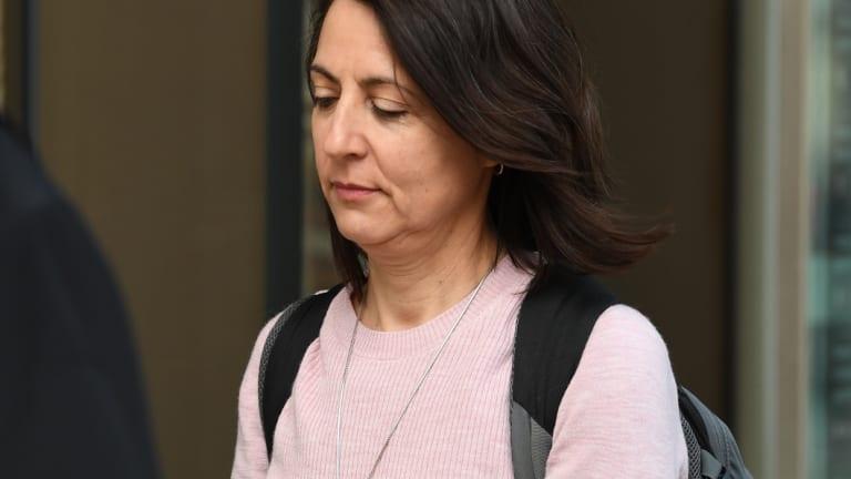 Esther Rockett outside court earlier last week.