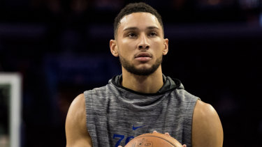 Ben Simmons has a World Cup dilemma.