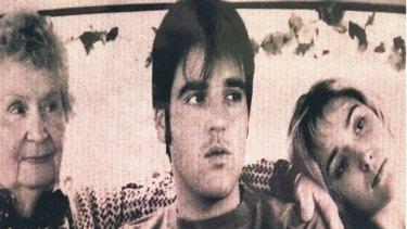 Black the Sun-era Alex Lloyd with friend Rose Byrne.