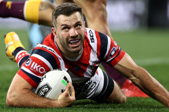 James Tedesco is keen to reamin at the Roosters.