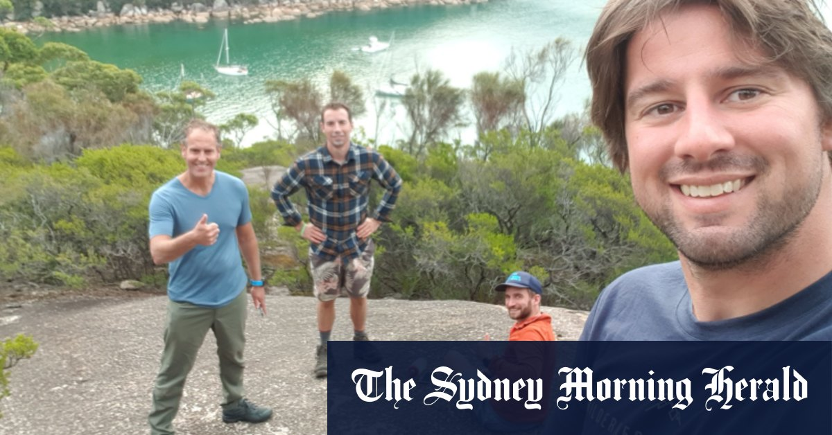 These four mates paddled 332 kilometres. What they found was spectacular