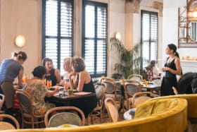 The Age, EPICURE - Review Mya Tiger at the Hotel Esplanade.  Pic Simon Schluter. 7 December 2018