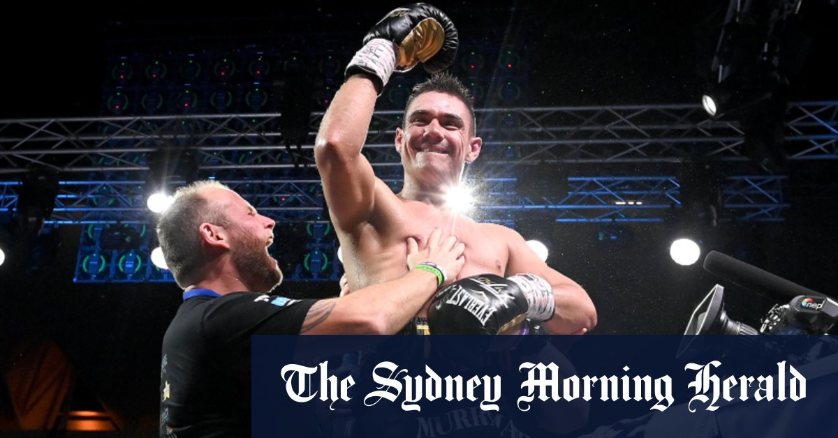 'My name is Tim': Tszyu batters Horn to announce himself to the world – Sydney Morning Herald