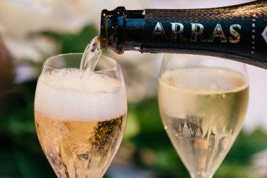 Arras sparkling wine