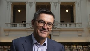 Tanarra Capital founder John Wylie is stepping down from his role as president of State Library Victoria after nine years.