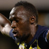 Lightning strikes twice: Usain Bolt scores brace for Mariners