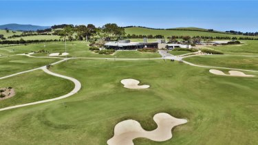 The Graham Marsh-designed 18-hole Growling Frog Golf Course in Yan Yean.