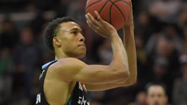 Hampton turned his back on American colleges to play for the Breakers.