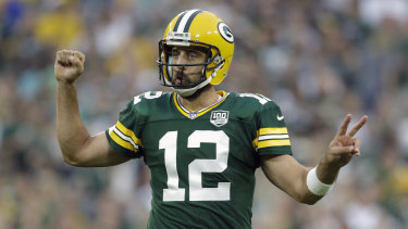 Your shout: Aaron Rodgers has reportedly signed the richest contract in NFL history.