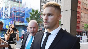 Summer of woe: the Jack de Belin case was one of several which prompted Telstra to consider pulling its sponsorship of the NRL.
