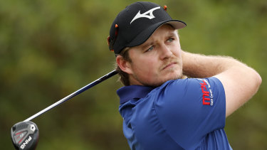 Eddie Pepperell hit the water at least four times before calling it a day.