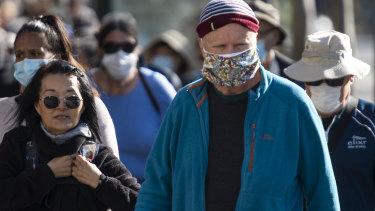 NSW Premier Gladys Berejiklian is advising the public to wear face mask to stop the  spread of coronavirus.