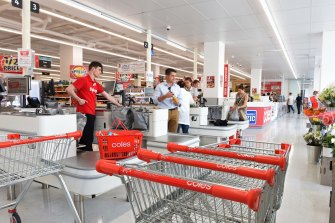 The checkout could soon be a thing of the past, according to one of Coles' senior executives.