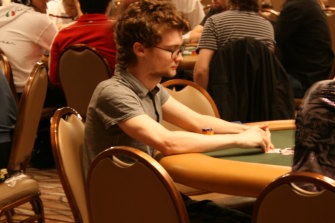 Professor Newall during his professional poker playing days.