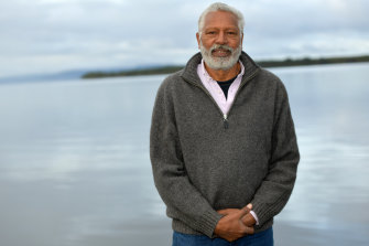 Ernie Dingo hosts Going Places, a travel program on SBS.