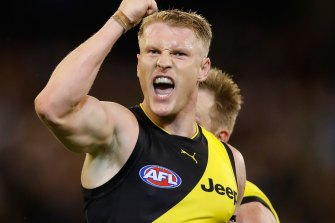 Richmond's Josh Caddy.