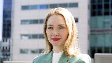 Flexigroup chief executive Rebecca James.