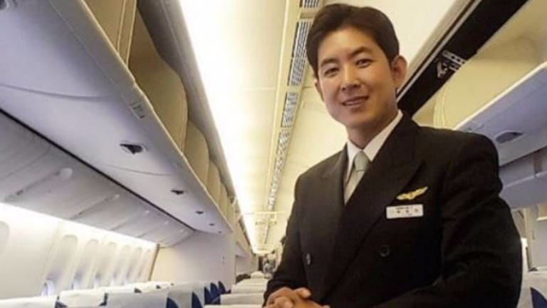 Park Chang-jin, the Korean Air flight attendant who found himself at the centre of the 'nut rage' incident involving the airline's heiress Cho Hyun-ah.