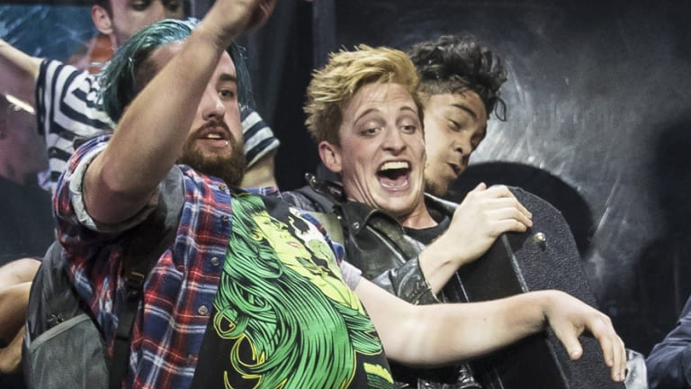 Linden Furnell (centre) in American Idiot.