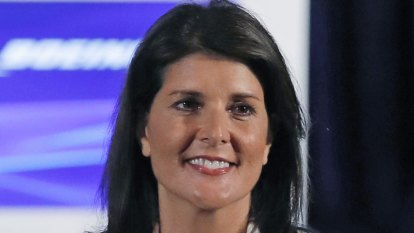 Nikki Haley claims top aides tried to recruit her to 'save the country'