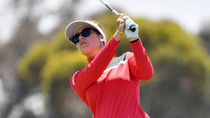 Green in the hunt at Women's Australian Open