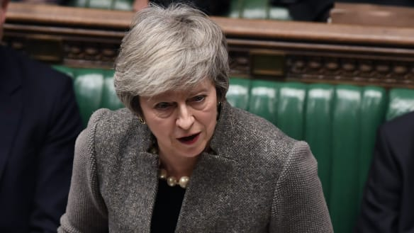 'No plot to keep us in backstop': May sets Brexit date with destiny