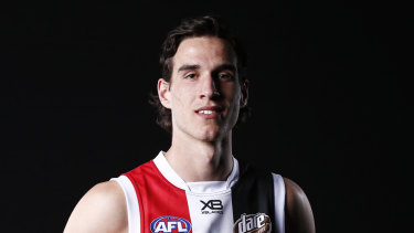 St Kilda draftee Max King will have scans on his knee after picking up an injury in the VFL.