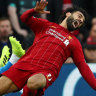 Salah could face Manchester United after avoiding serious injury