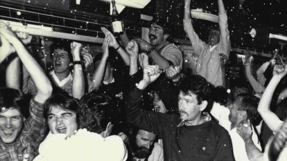 From the Archives, 1983:  America's Cup triumph unites a nation
