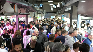 A person with measles visited the Queen Vic Market on Saturday, December 22.