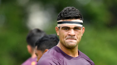 David Fifita is among those in the early season injury ward for Brisbane.