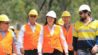 An expert has criticised the focus of the major parties on jobs in male-dominated sectors.