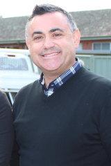 Deputy Premier John Barilaro.
