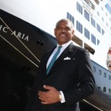 Arnold Donald, the head of Carnival Cruises, in Sydney.