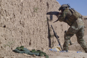 A special forces soldier in Afghanistan in 2011.