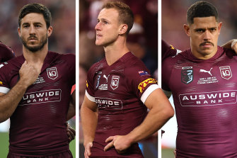 Cool heads ... Ben Hunt, Daly Cherry-Evans and Dane Gagai.