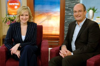 Koch and former co-host Melissa Doyle helped make Sunrise Australia's most-watched breakfast show.