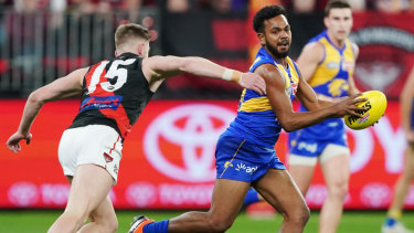 Willie Rioli shone for West Coast.