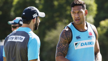 """""""I believe the Bible is the truth and sometimes the truth can be difficult to hear"""": Israel Folau."""