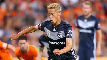 Keisuke Honda has recovered from his hamstring injury.