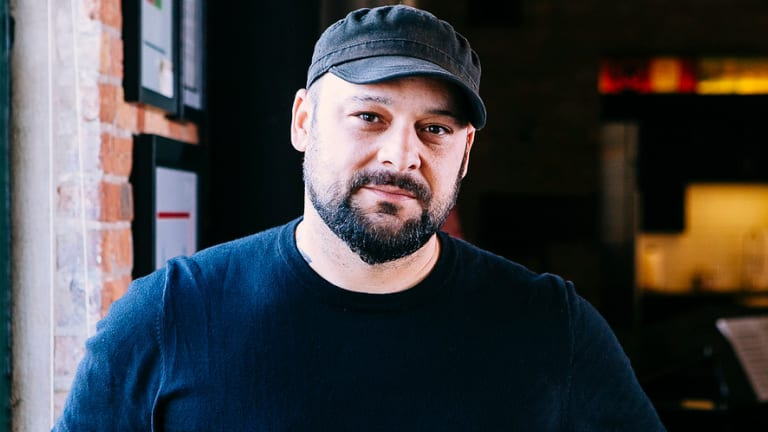 Former neo-Nazi turned author and deradicalisation expert: Christian Picciolini.