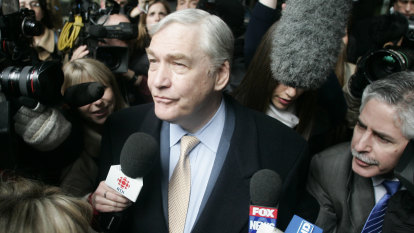 Conrad Black on Donald Trump, 'fake news' and making up with Rupert Murdoch