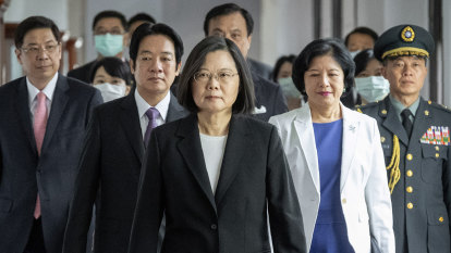 Taiwanese President warns of military conflict, calls for greater ties