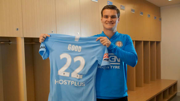 Good goes back to the future to reboot career with Melbourne City